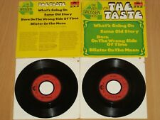 """4x7"""" EP - The Taste - Rory Gallagher - Die vier großen Hits - What's Going On"""