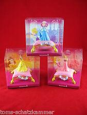 Bullyland Cinderella, Belle, Aurora 3er-Set 12874 12875 12876 Walt Disney