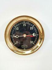 New listing Vintage Marshalltown Mfg. Co. Brass Pressure Gauge