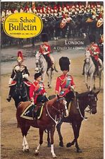 national geographic-SCHOOL BULLETIN-nov 20,1967-LONDON.