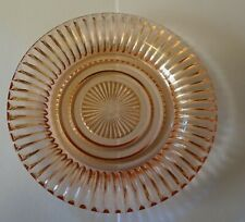 """Anchor Hocking Depression Glass Queen Mary 6"""" Pink Dessert Plate 6 Available !"""