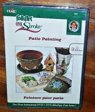 One Stroke Patio Painting with Donna Dewberry (2007, DVD) Free Shipping!