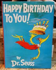 Seuss: HAPPY BIRTHDAY TO YOU! by Dr. Seuss 1987 - Hardcover