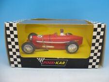 Pink Kar CV017 Grand Prix Bugatti Type 59 in Red, just Pink Kar to base mint unu