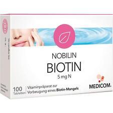 NOBILIN Biotin 5 mg N Tabl.   100 st   PZN5541640