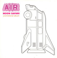 AIR ‎– Moon Safari CD 1997 Promo Import im Pappschuber