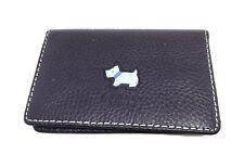 Radley Credit Card Holder Blue Leather Wallet
