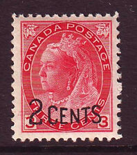 Canada Sc# 88 Unused LH F-VF Overprint