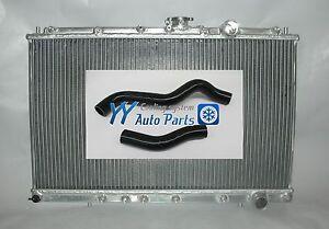 Mitsubishi Lancer EVO 1 2 3 Race Aluminum Radiator+Silicone Radiator hose