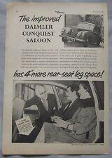 1955 Daimler Conquest Original advert No.1