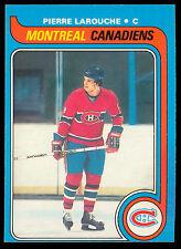 1979 80 OPC O PEE CHEE 233 PIERRE LAROUCHE NM MONTREAL CANADIENS HOCKEY CARD