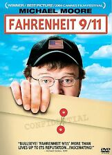 Fahrenheit 9/11 (DVD, 2004) NEW Sealed with Slipcover - Free Shipping!!