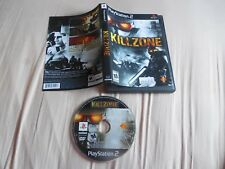 Killzone Ps2 PlayStation 2 Game Disc Only  CASE  JUST PRINTED GRAPHIC RESURFACED