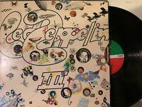 Led Zeppelin – Led Zeppelin III LP 1970 Atlantic SD 7201 - ULTRASONIC CLEAN EX