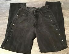 VINTAGE ROCKY MOUNTAIN JEANS BLACK HIGH WAIST SIZE 11 31x36