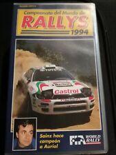 Lote de películas VHS de Rallyes