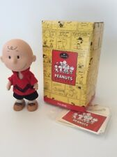 "SNOOPY Peanuts HALLMARK ""Charlie Brown"" 6"" PORCELAIN, jointed figure, FREE SHIP"