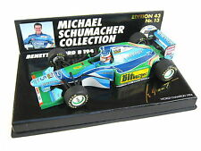 BENETTON B194 SCHUMACHER WORLD CHAMPION 1994 ED. 43 NO 13 PMA 510944335 1/43 OVP