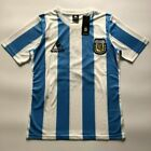 Argentina Mexico 1986 Maradona RETRO VINTAGE SOCCER FOOTBALL SHIRT JERSEY