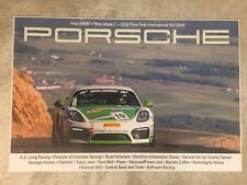 2016 Porsche 996 Turbo Pikes Peak Advertising Sales Poster RARE!! Awesome L@@K