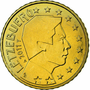[#700494] Luxembourg, 50 Euro Cent, 2011, SUP, Laiton, KM:91