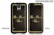 Disney Once Upon A Time Story Book Cover iPhone or Samsung Phone Case Cover