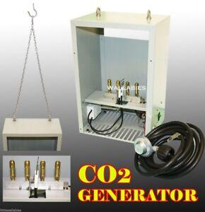 Auto Pilot Hydroponic Greenhouse room CO2 4 Burner Generator Propane LP GAS
