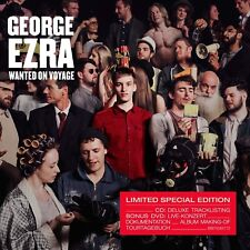 GEORGE EZRA - WANTED ON VOYAGE (DELUXE) 2 CD NEW!