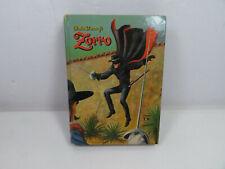 1958 WALT DISNEY ZORRO  STEVE FRAZEE, HENRY LURHS Hardcover book