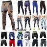 Uomo Contenitive Pantaloni Leggings Camo Skins Shorts Maglia Primo Strato