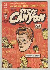 Steve Canyon #3 June 1948 G