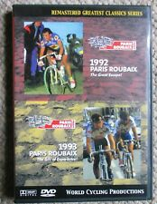 1992 1993 Paris - Roubaix World Cycling Productions 2 DVD set Very Clean