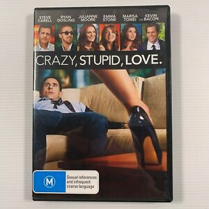 Crazy Stupid Love (DVD 2012) Ryan Gosling Steve Carell Emma Stone Region 4