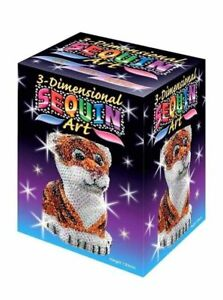 Sequin Art 3D Tiger - DIY Craft Project for Kids & Adults 1122