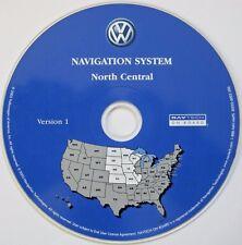 2004 Vw Volkswagen Touareg Navigation Disc Cd North Central Mo Mn Ia Ks Ne Nd