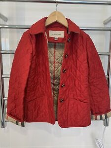 Burberry Kids Jacket- Red- Size 8