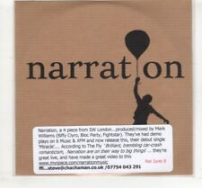 (HM84) Narration, Miracle - DJ CD