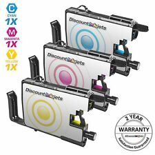 3pk LC75 LC-75 XL Color Printer Ink Cartridge for Brother MFC-J425W