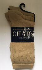 "3-Pair Women's Microfiber Crew Socks Size 9-11 ""Chaps"" Knee Hi"