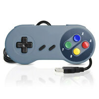 2 Pack Retro For SNES USB Classic Controller Gamepad PC MAC Linux Raspberry Pi