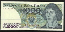 1000 Zlotych note, MINT UNC. 1982 Issue. Copernicus (PA52B)