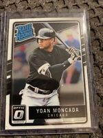 2017 Donruss Optic #31 Yoan Moncada RR RC