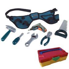 Bosch Theo Klein Mini Werkzeuggürtel Spielzeug + Tanos Micro Systainer bunt