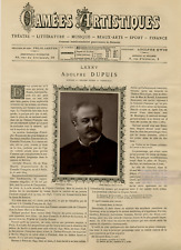 Goupil, France, Camées Artistiques, Adolphe Dupuis vintage print Photoglyptie