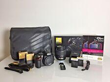 Nikon D3200 DSLR Camera + AF-S DX VR 18-55 Lens + Extras - Boxed Complete