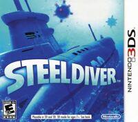 Steel Diver Nintendo 3DS Brand New