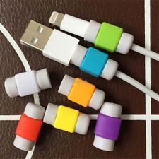 20PCS Protector Saver Cover for Apple iPhone Lightning Charger Cable USB Cord TR