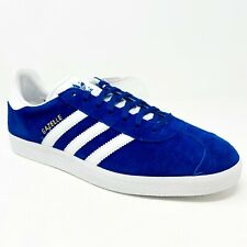 Adidas Originals Gazelle Royal Blue White Gold S76227 Mens Sneakers