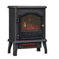 Electric Stove Black Legacy 1000 Sq Ft Panoramic Glass