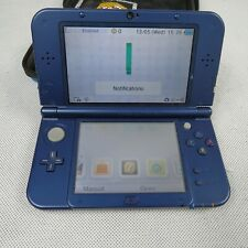 """New"" Nintendo 3DS XL Console Only Unboxed PAL Metallic Blue 3D Handheld N3DS"